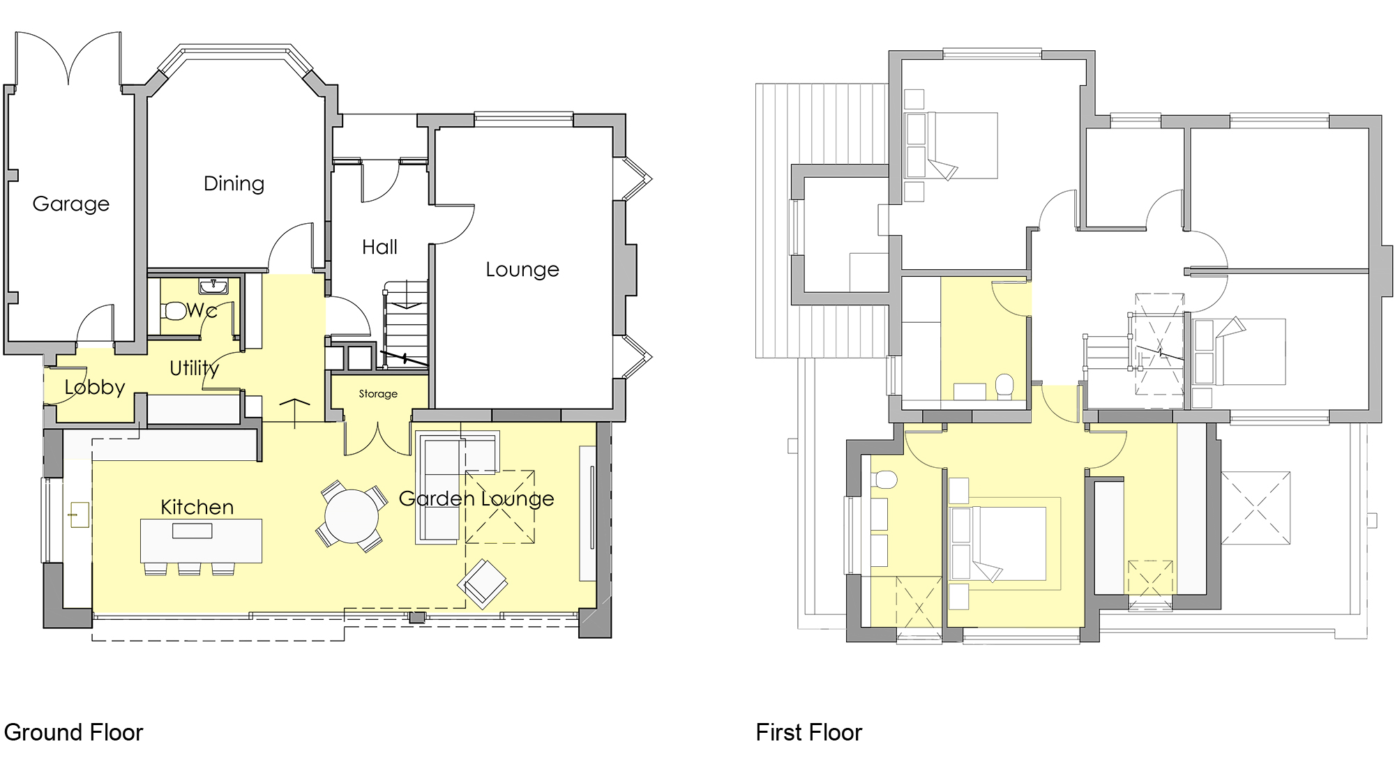 RHJB_HaynesRd_Modern two storey extension