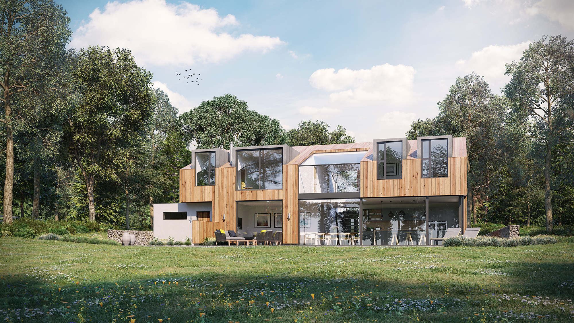 RHJB_New build Contemporary House Kent